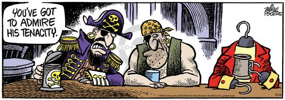 Comic Strip Mike Peters  Mother Goose and Grimm 2010-05-14 pirate