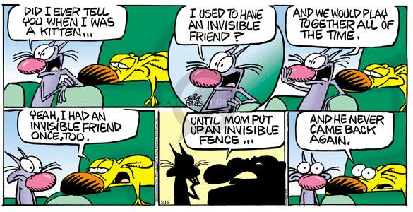 Comic Strip Mike Peters  Mother Goose and Grimm 2010-05-16 back when