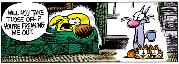 Comic Strip Mike Peters  Mother Goose and Grimm 2010-05-25 slipper