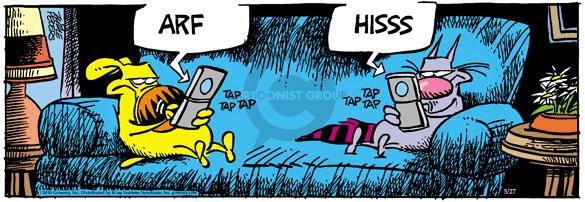 Comic Strip Mike Peters  Mother Goose and Grimm 2010-05-27 dog and cat