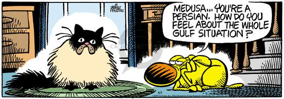 Cartoonist Mike Peters  Mother Goose and Grimm 2010-06-03 origin