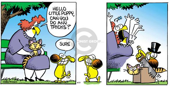 Cartoonist Mike Peters  Mother Goose and Grimm 2010-06-13 puppy dog