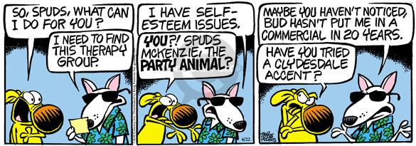 Comic Strip Mike Peters  Mother Goose and Grimm 2010-06-22 issue