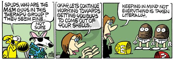Comic Strip Mike Peters  Mother Goose and Grimm 2010-06-29 marketing