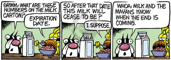 Comic Strip Mike Peters  Mother Goose and Grimm 2010-07-26 expiration date