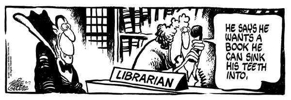 Comic Strip Mike Peters  Mother Goose and Grimm 1987-09-07 library