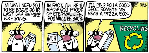 Comic Strip Mike Peters  Mother Goose and Grimm 2010-07-29 belief
