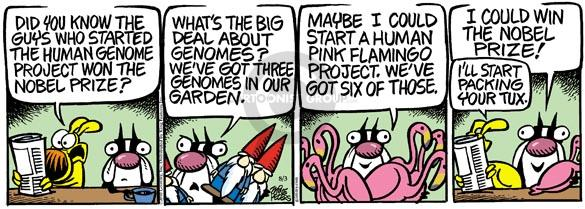 Comic Strip Mike Peters  Mother Goose and Grimm 2010-08-03 pink