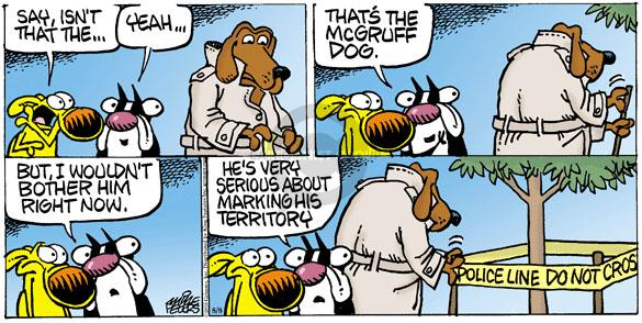 Comic Strip Mike Peters  Mother Goose and Grimm 2010-08-08 bother