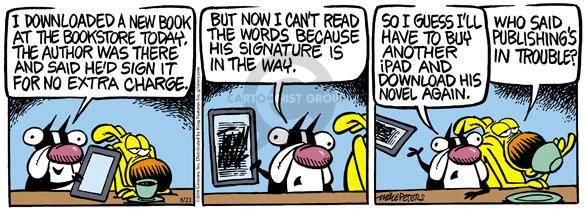 Comic Strip Mike Peters  Mother Goose and Grimm 2010-08-21 publishing