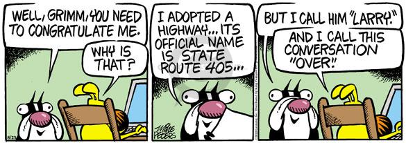 Comic Strip Mike Peters  Mother Goose and Grimm 2010-08-23 infrastructure