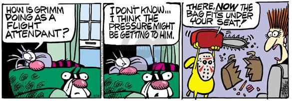 Comic Strip Mike Peters  Mother Goose and Grimm 2010-09-14 profession