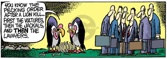 Comic Strip Mike Peters  Mother Goose and Grimm 2010-09-18 lion