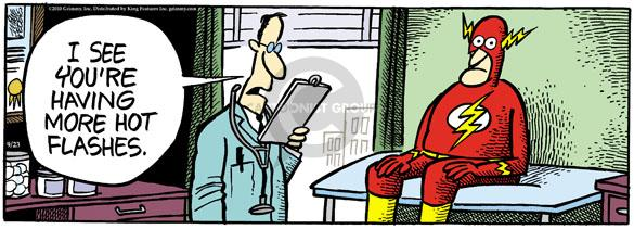 Comic Strip Mike Peters  Mother Goose and Grimm 2010-09-23 flash