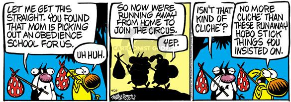 Comic Strip Mike Peters  Mother Goose and Grimm 2010-09-29 yep