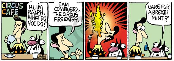 Comic Strip Mike Peters  Mother Goose and Grimm 2010-10-09 entertainment