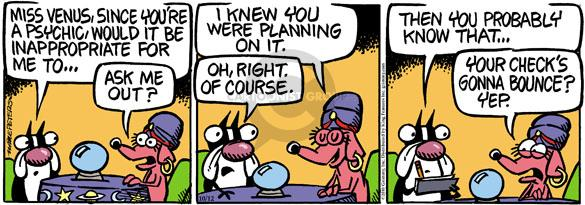 Cartoonist Mike Peters  Mother Goose and Grimm 2010-10-12 financial planning