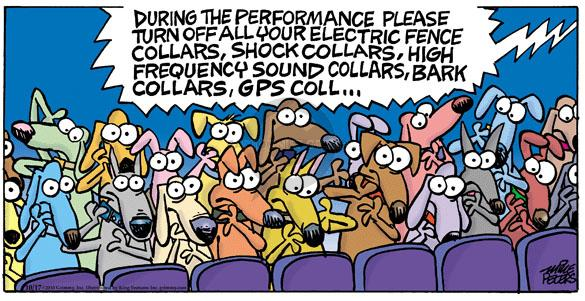 Comic Strip Mike Peters  Mother Goose and Grimm 2010-10-17 audience