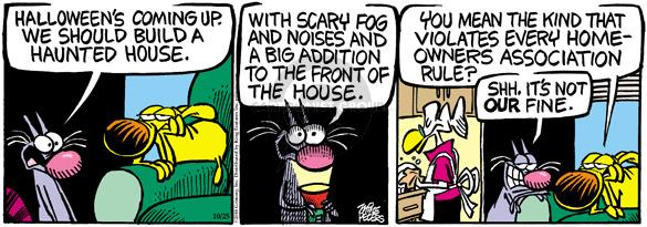 Comic Strip Mike Peters  Mother Goose and Grimm 2010-10-25 house