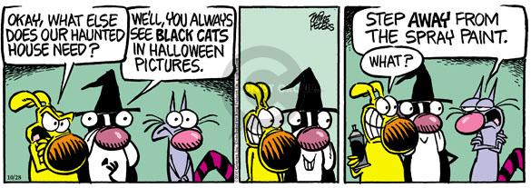 Comic Strip Mike Peters  Mother Goose and Grimm 2010-10-28 black cat