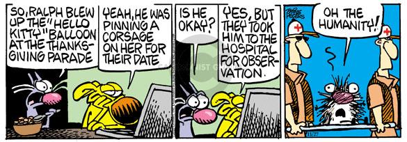 Comic Strip Mike Peters  Mother Goose and Grimm 2010-11-27 date