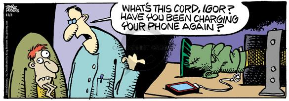 Comic Strip Mike Peters  Mother Goose and Grimm 2010-12-02 assistant