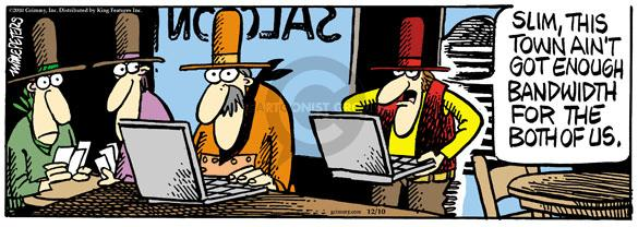 Comic Strip Mike Peters  Mother Goose and Grimm 2010-12-10 WiFi