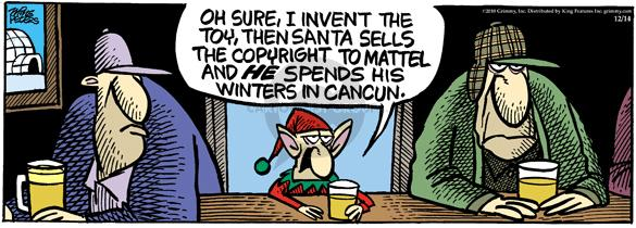 Comic Strip Mike Peters  Mother Goose and Grimm 2010-12-14 inventor