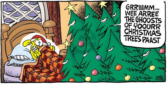 Comic Strip Mike Peters  Mother Goose and Grimm 2010-12-19 tree