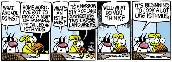 Comic Strip Mike Peters  Mother Goose and Grimm 2010-12-20 land