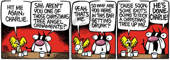 Comic Strip Mike Peters  Mother Goose and Grimm 2010-12-22 liquor