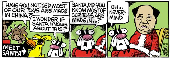 Comic Strip Mike Peters  Mother Goose and Grimm 2010-12-24 manufacture