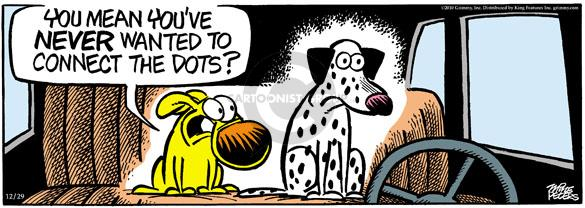 Comic Strip Mike Peters  Mother Goose and Grimm 2010-12-29 dalmatian