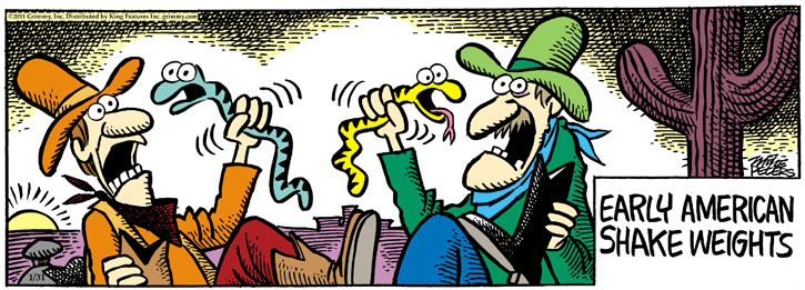 Comic Strip Mike Peters  Mother Goose and Grimm 2011-01-31 early