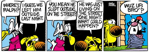 Comic Strip Mike Peters  Mother Goose and Grimm 2011-02-04 left