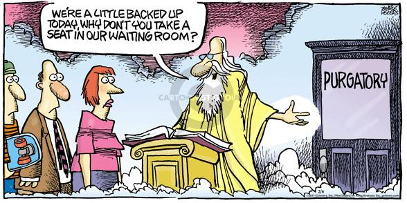 Comic Strip Mike Peters  Mother Goose and Grimm 2011-02-06 saint