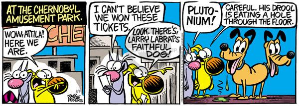 Comic Strip Mike Peters  Mother Goose and Grimm 2011-02-08 effect
