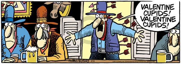 Comic Strip Mike Peters  Mother Goose and Grimm 2011-02-14 valentine
