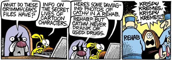 Comic Strip Mike Peters  Mother Goose and Grimm 2011-02-22 addiction