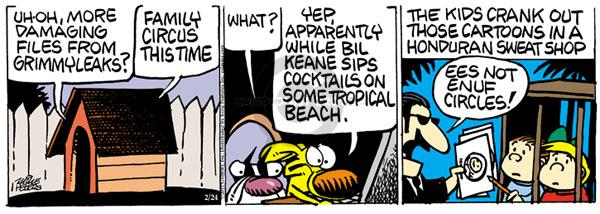 Comic Strip Mike Peters  Mother Goose and Grimm 2011-02-24 yep