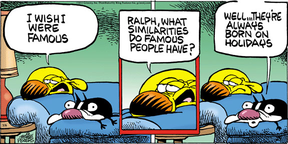 Comic Strip Mike Peters  Mother Goose and Grimm 2011-03-06 famous