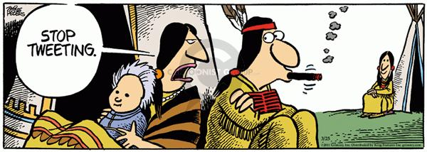 Comic Strip Mike Peters  Mother Goose and Grimm 2011-03-25 communicate