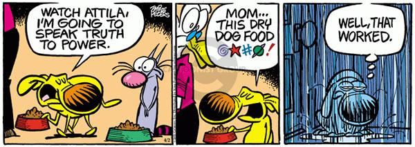 Comic Strip Mike Peters  Mother Goose and Grimm 2011-04-02 power