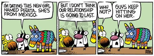 Comic Strip Mike Peters  Mother Goose and Grimm 2011-05-16 date