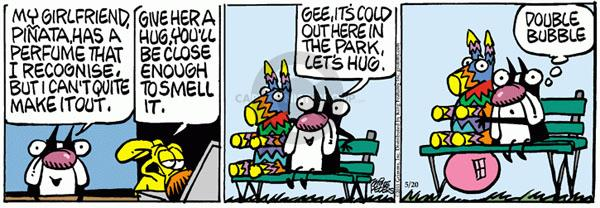 Comic Strip Mike Peters  Mother Goose and Grimm 2011-05-20 bubble