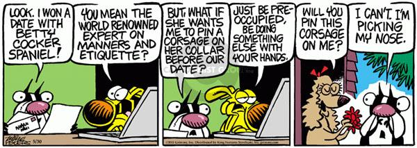 Comic Strip Mike Peters  Mother Goose and Grimm 2011-05-30 date