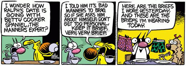 Comic Strip Mike Peters  Mother Goose and Grimm 2011-06-01 date