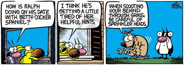 Comic Strip Mike Peters  Mother Goose and Grimm 2011-06-02 date