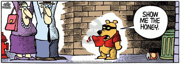 Comic Strip Mike Peters  Mother Goose and Grimm 2011-06-07 bear