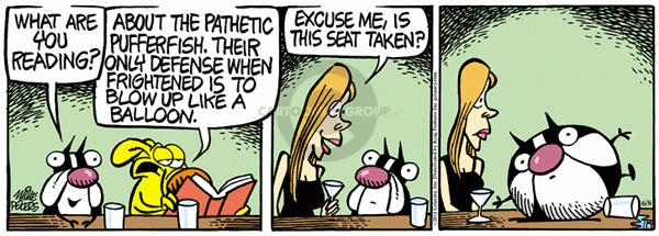 Comic Strip Mike Peters  Mother Goose and Grimm 2011-06-08 response